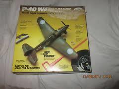 Run of my Testors fly 'em' P40 P-40-a10