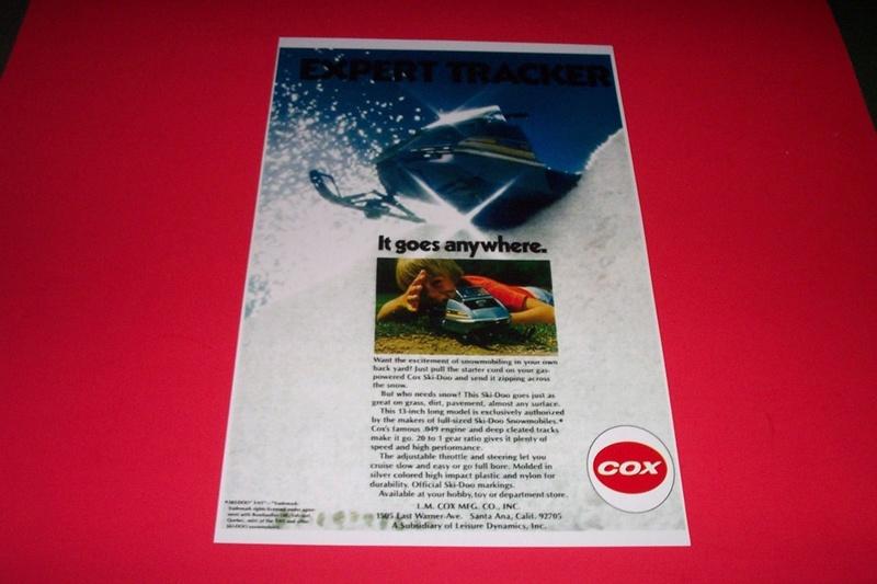 Cox Ski-Doo on eBay Tnt-1910