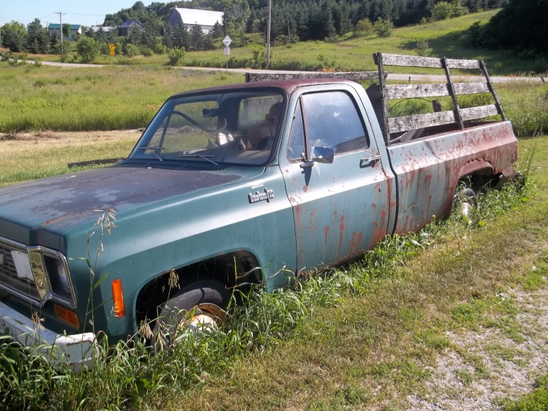 1974 Pickup fleetside vieilli 100_0210