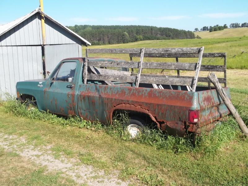 1974 Pickup fleetside vieilli 100_0211