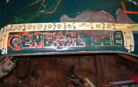 Général Lee - 50e Anniversaire Hémi 1/16 18s03z10