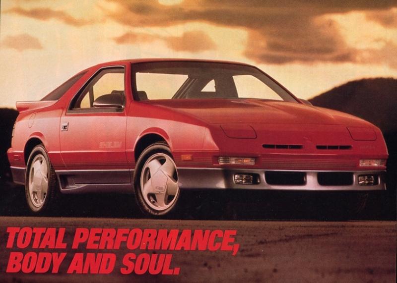 Chrysler Daytona Shelby Z 1988 Ad_dod10