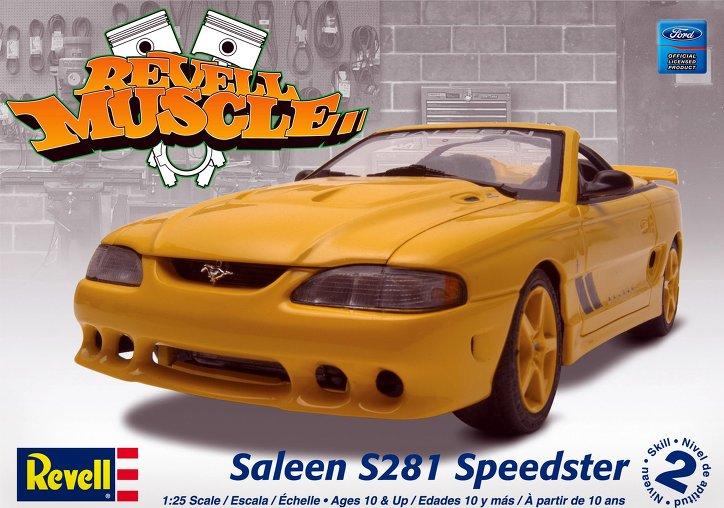 1994 Mustang GT Monogram 1:24 Revell10