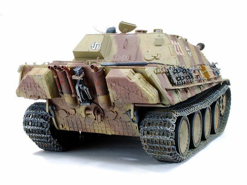 Jagdpanther WW II 1/25 Défi Killroytech Zemmer11