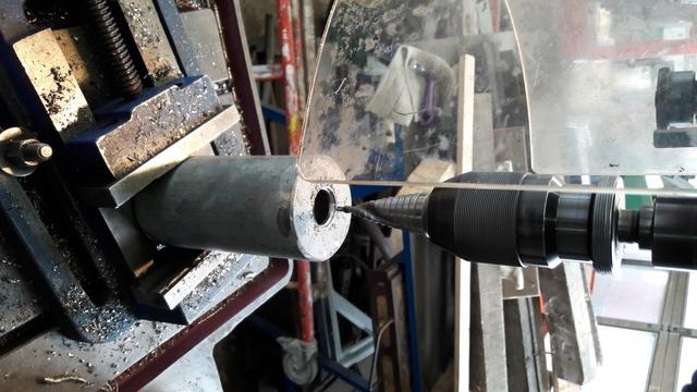 Mortier 80mm allemand (replique) 411
