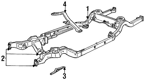Front Control Arm Brace Brackets Frame_10