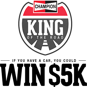 Champion Spark Plugs- King Of The Road Contest! Txt-ba10