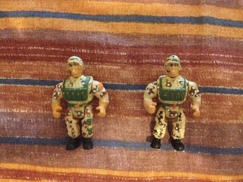 LOTTO TIPI TOSTI Gig i soldatini muscolosi - Military Muscle Men Foto_322