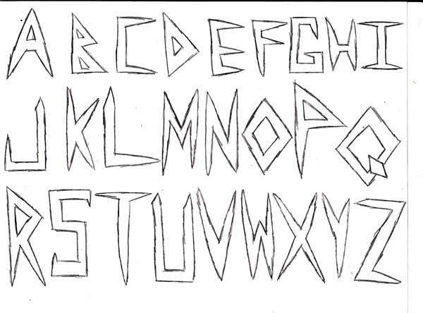 Assignment 12: Graffiti Alphabet due Oct 22 Abc_s10