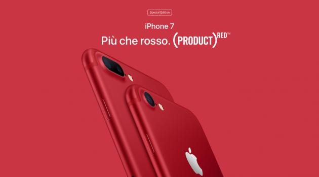 iPhone 7 si tinge di rosso: ecco la nuova colorazione RED Scherm10