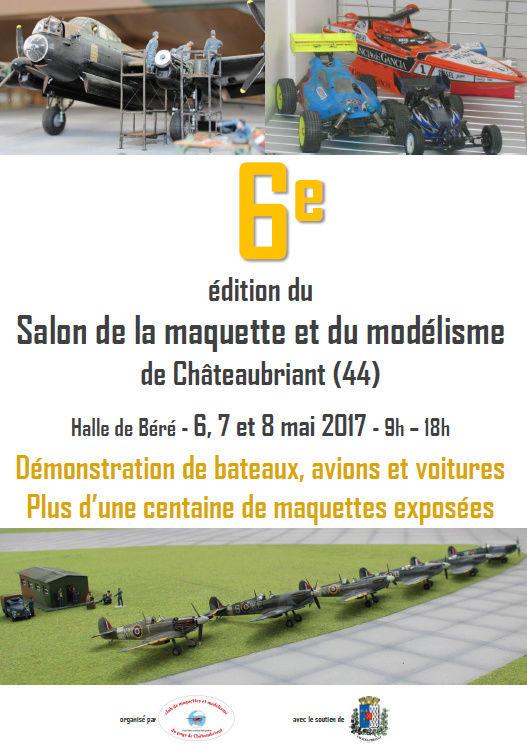 6ème salon de la maquette et du modèle réduit de Chateaubriant (44) A5afe510