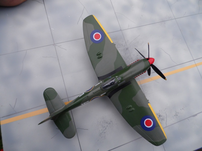 Hawker tempest Mkv (kit heller 1/72- avion de Pierre CLOSTERMAN) Sam_0052