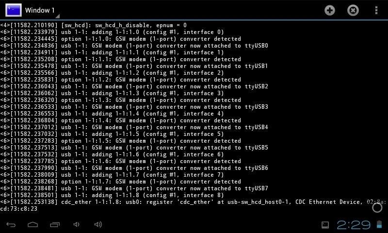 Configurer  tablette avec Modem 3g (n'importe lequel) Pic110