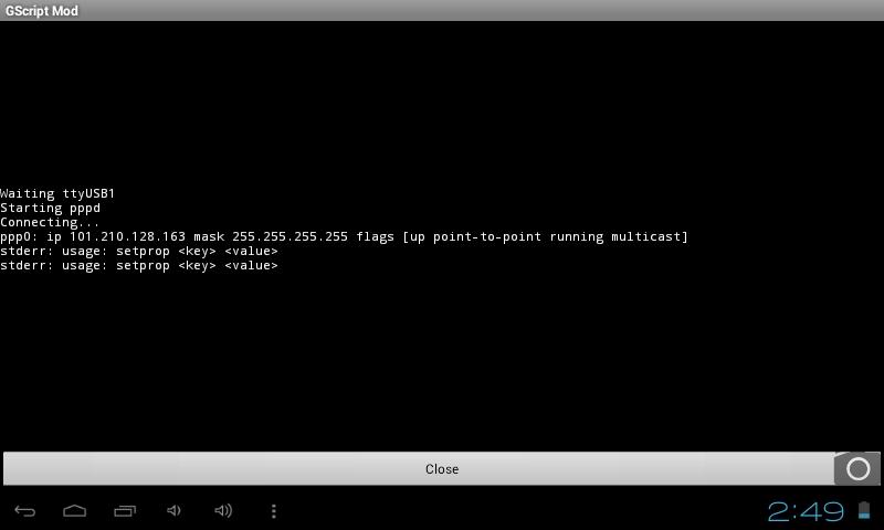 Configurer  tablette avec Modem 3g (n'importe lequel) Pic1210