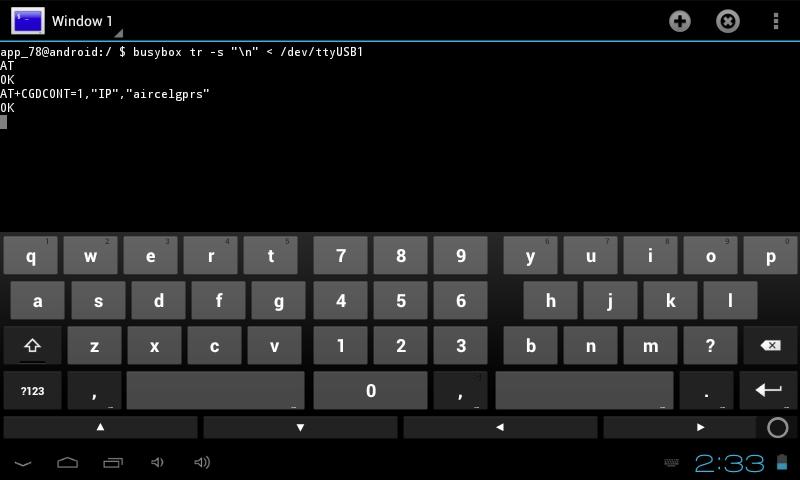 Configurer  tablette avec Modem 3g (n'importe lequel) Pic910