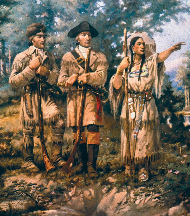 MINUTEMAN MODELS - Sacagawea the Legend - Résine - 1/6 Detail10