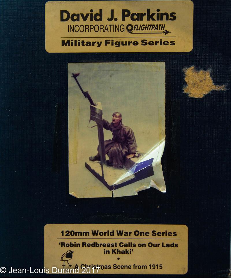 Avant la bataille d'Arras, mars 1917 - Soldat de la 35ème Division - Figurine résine David J. Parki Img_7910