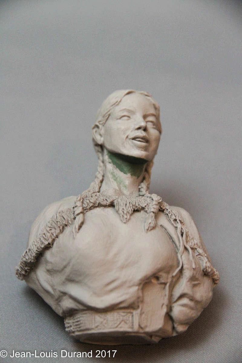 MINUTEMAN MODELS - Sacagawea the Legend - Résine - 1/6 Img_7925