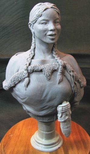 MINUTEMAN MODELS - Sacagawea the Legend - Résine - 1/6 Minute10