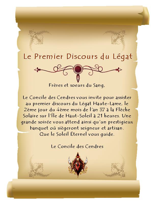 Le Premier Discours du Légat 0_64d811