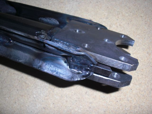 Early Steel A-Arms Modified to Fit Late Offset Cimg2212