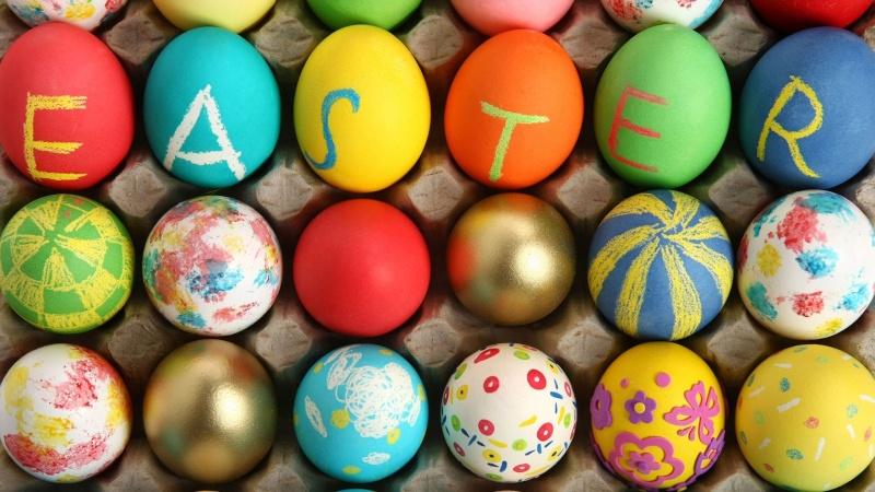 Paas Decoraties Eggs-h10