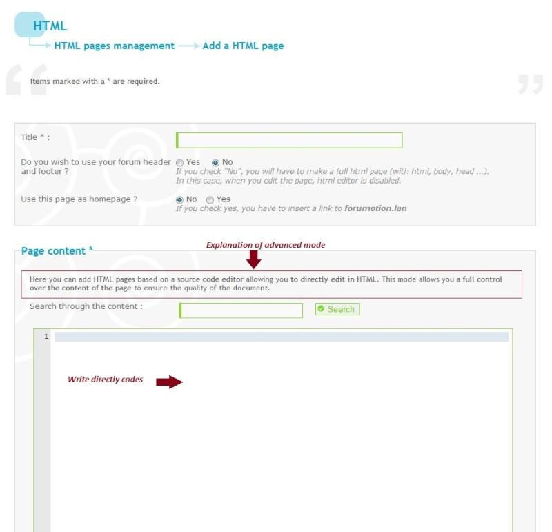 UPDATE: Gestione delle pagine html e notifica per la scadenza del dominio Mode_a10