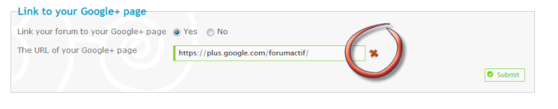 [New update] Link your forum to your Google+ Page Remove10
