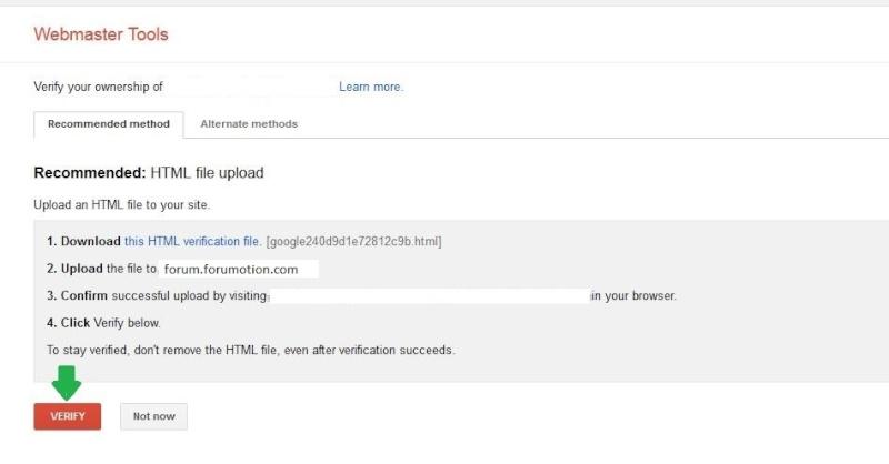 Google Chrome Alert: verificare la sicurezza del tuo forum Verify11