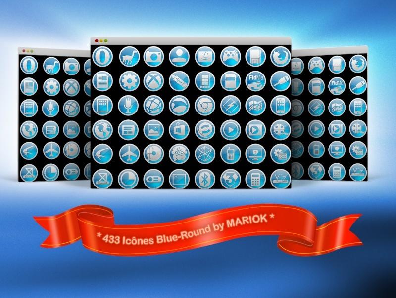 [ICONES] Blue-round By mariok Presen10