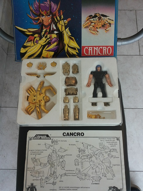 Cavalieri dello Zodiaco Cancro 1^ versione Giochi Preziosi 20131026