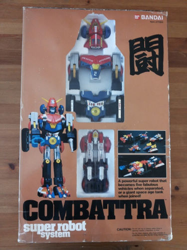 COMBATTLER V DX COMBATTRA POPY BANDAI MADE IN JAPAN Comb10