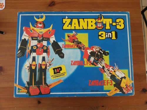 ZANBOT 3 DELUXE CLOVER SCATOLA ITALIANA Zan10
