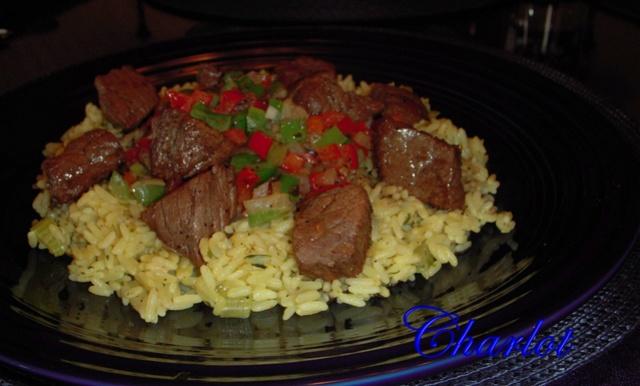 Sauté de bœuf et légumes, sauce balsamique et vin rouge Boeuf_11