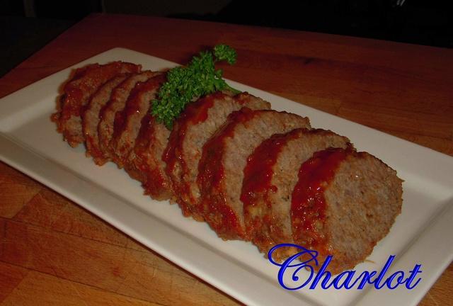 Recette Pain de viande au ketchup Pain_111