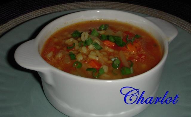 Soupe santé à l'orge Soupe_12