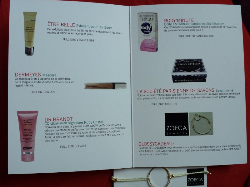 [Avril 2014] Glossybox - Page 3 20140410