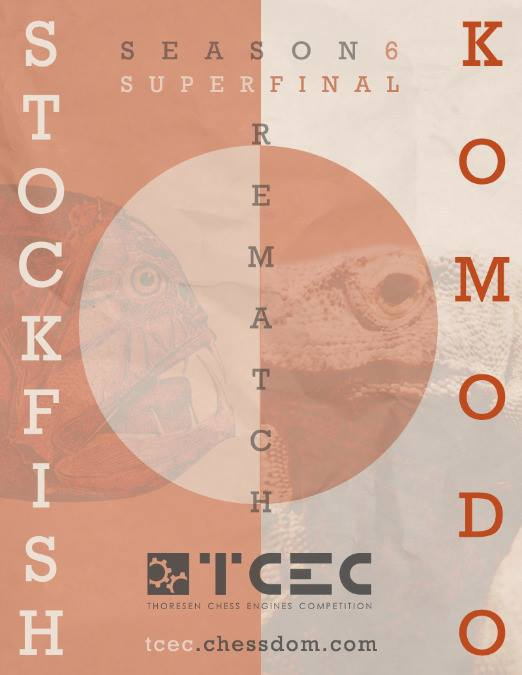 TCEC Season 6 - Superfinal  15269010