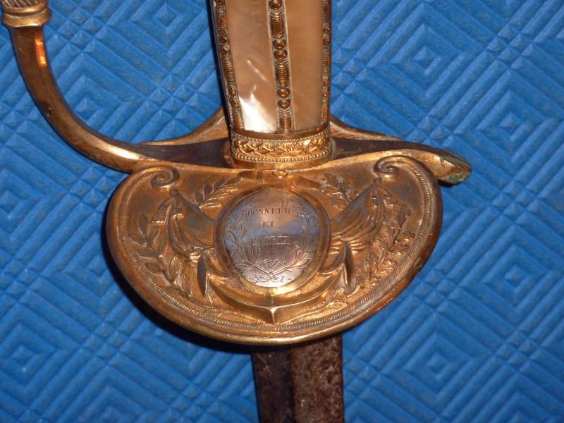 Epée Fantaisie d'Officiers,Commissaires et Inspecteurs de Marine 1819/II Emp. P1140218