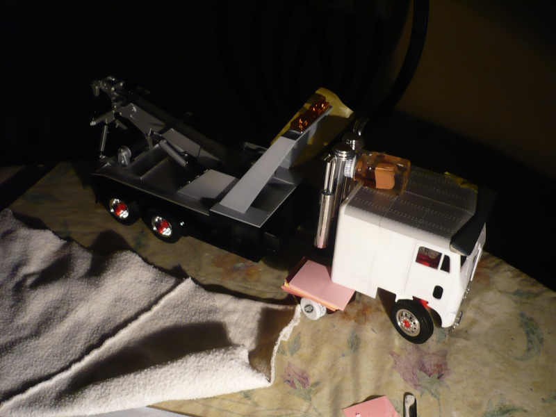 freightliner cab over towing 05611