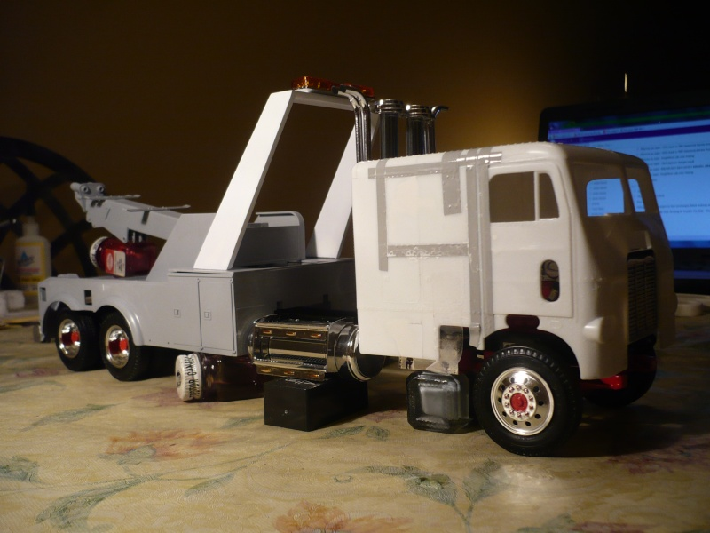 freightliner cab over towing 90813