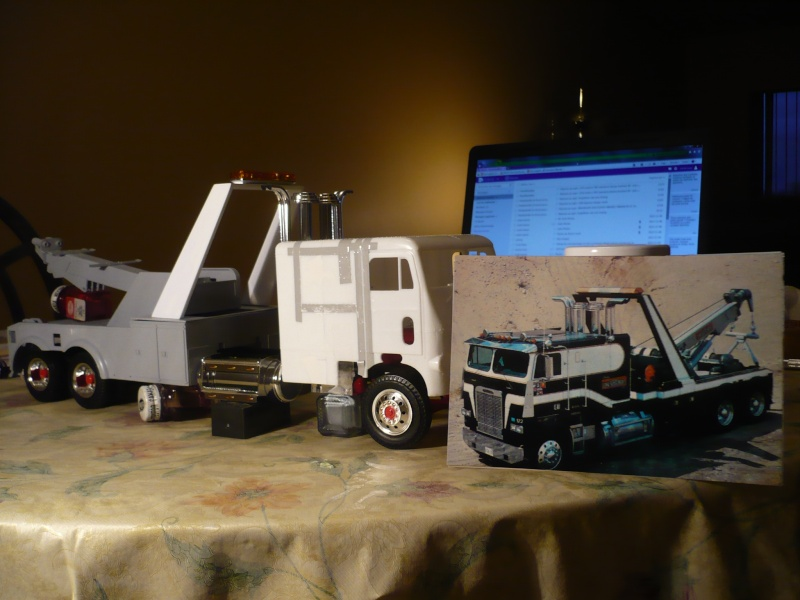 freightliner cab over towing 91111