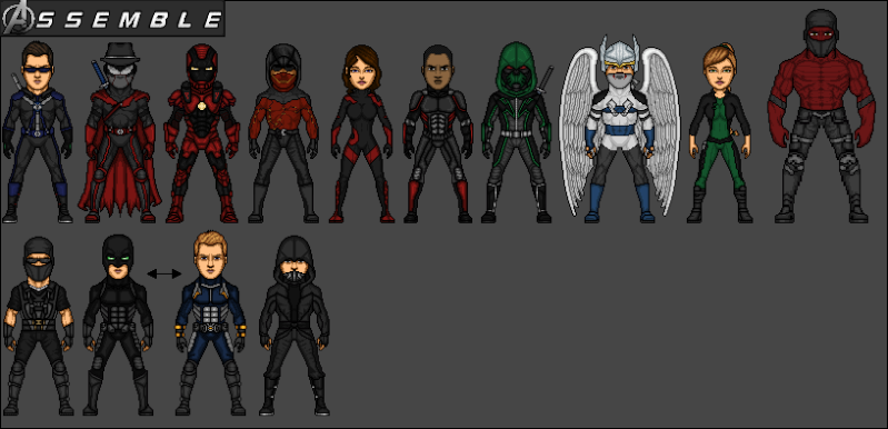 Avengers Formations (Micro heroes) 5_aven11