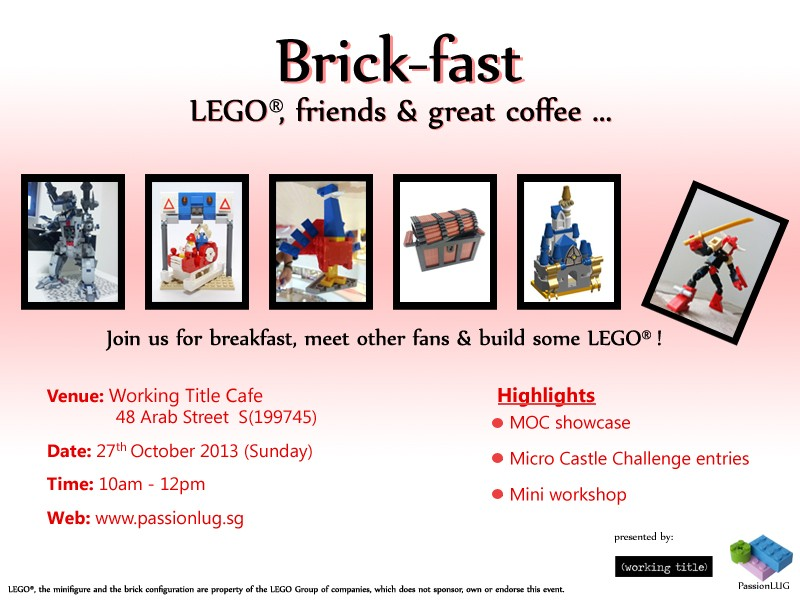 27/10 Brick-fast @ Working Title Cafe Brickf10