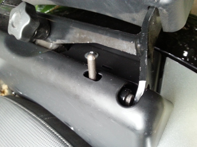 Système de bascule top case Piaggio Suppor10