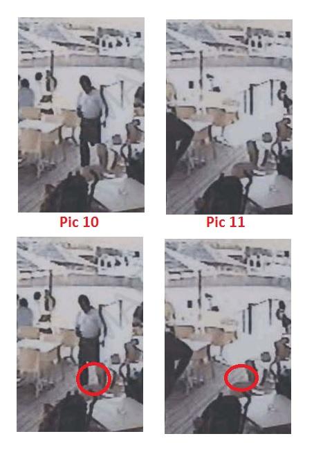 THE CASE OF THE LEGLESS WAITER - PARAISO RESTAURANT CCTV 3010