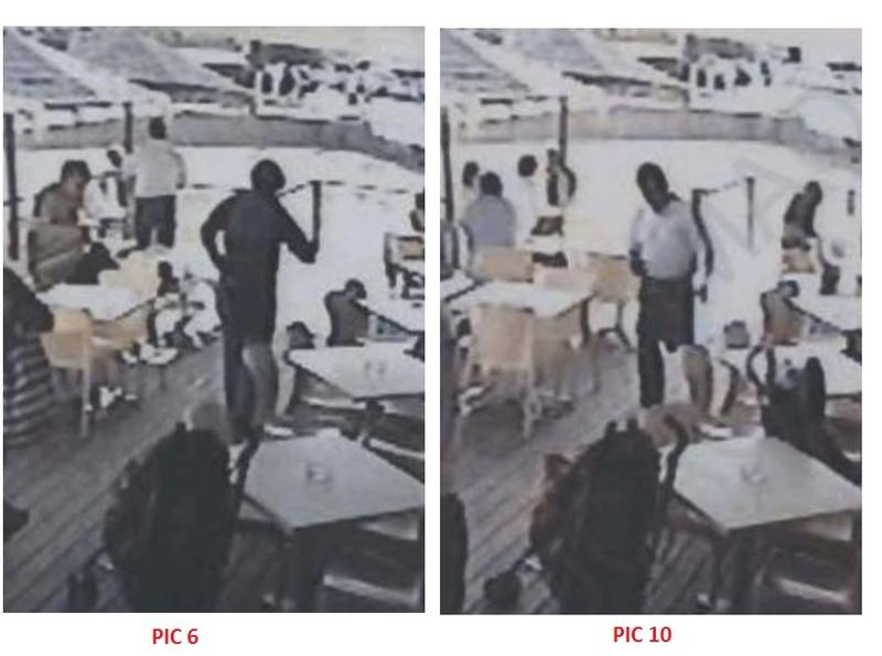 THE CASE OF THE LEGLESS WAITER - PARAISO RESTAURANT CCTV 3110