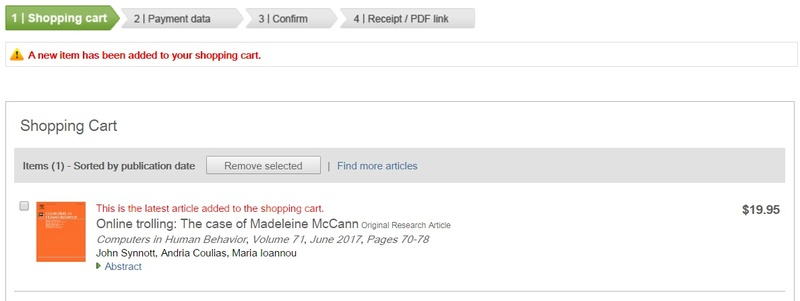 Three university forensic psychologists say > 'Anti-McCann Trolls Cannot be Cured' June10