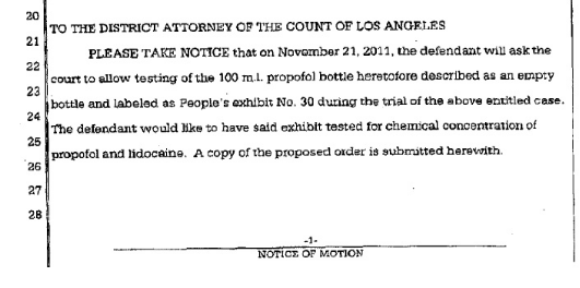 Information about Conrad Murray futher trial and sentece Cm210