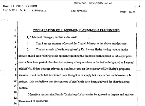 Information about Conrad Murray futher trial and sentece Cm510